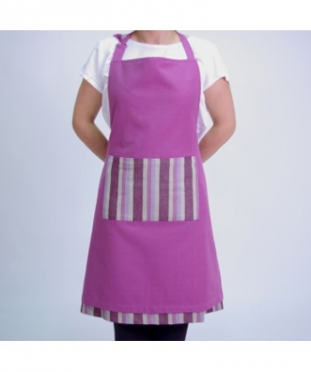 Delantal Reversible Apron Lila