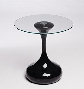 Muebles mesas auxiliares for Mesa cristal carrefour