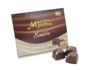 Miniguelitos Bombon Chocolate 12unds.