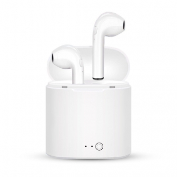 Auriculares Inalambricos Tipo Airpods Bluetooth Wireless Con Base De Carga