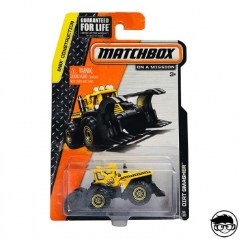 Matchbox Dirt Smasher Mbx Construction 46/120 2015 Long Card