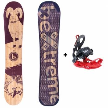 Pack Snowboard Spark 145 Bextreme 2020 + Fijaciones  Talla 42-44