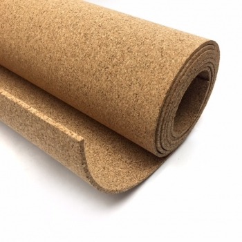 Rollo Corcho Natural De 5 Mm De Grosor De 200 X 100 Cm