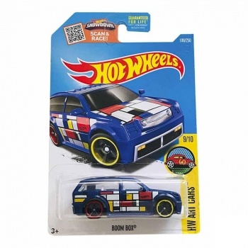 Hot Wheels Boom Box Hw Art Cars 199/250 2016 Long Card