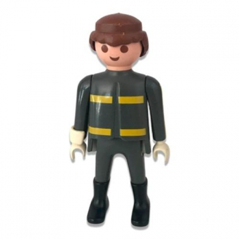 Playmobil Vintage Figure New York Firefighter 1992 Loose