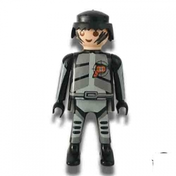 Playmobil Special Police Agent Figure 1997 Loose