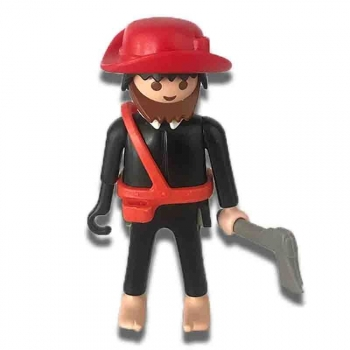 Playmobil Pirate Of The Middle Ages Figure 1989 Loose