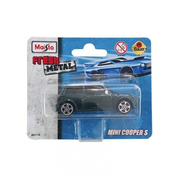Maisto Mini Cooper S Fresh Metal 07119 2014 Short Card