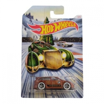 Hot Wheels Audacious 2019 Holiday Hot Rods 3/6 Long Card