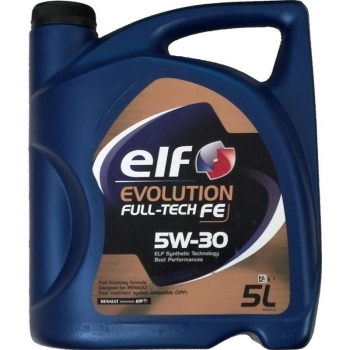 Aceite Lubricante Para Coche Elf Evolution Full-tech Fe 5w30 5 Litros.