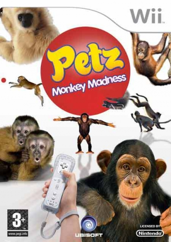 Animalz Monkey Area Wii