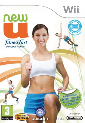 New U Fitness First Personal Trainer Wii