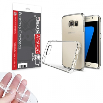 3cb9c512987 Producto Original Donkeyphone® - Funda Gel Transparente Para Samsung Galaxy  S7 Edge G935f Silicona Ultra