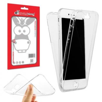 f5239ef989d Producto Original Donkeyphone® - Funda 360 Doble Delantera + Trasera Gel  Transparente Para Iphone 7