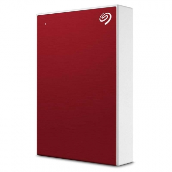 "Seagate 2.5"" Disco Duro Externo 5tb Backup Plus Portable Rojo"