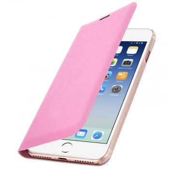 d5bdffb464e Funda Iphone 7 Plus / 8 Plus Libro Billetera Flip Book Cover - Rosa