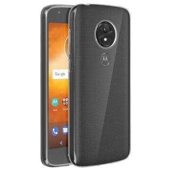 b1f4695d21b Carcasa Motorola Moto E5 Play Carcasa De Silicona Flexible Transp.