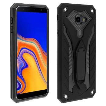 8bc74bddd0b Carcasa Samsung Galaxy J4 Plus Protectora Híbrida Serie Phantom Forcell -  Negra