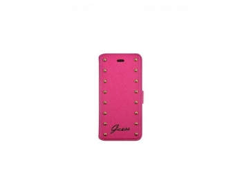 Funda Tipo Libro Guess Iphone 6/6s Plus Rosa