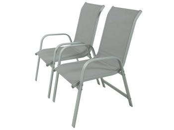 Sillas y sillones de exterior jard n y terraza for Sillas jardin blancas