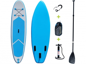 "Paddle ""blue Water 4"" - 76 X 325 Cm - Azul/blanco"