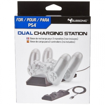 Dual Charging Station Subsonic Ps4