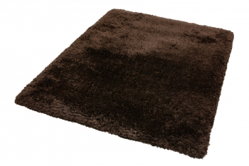 Beneffito - Plush  Alfombra Ultimate Shaggy - 70x140cm - Chocooscuro