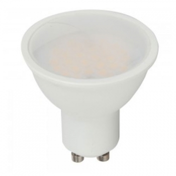 Bombilla Led Gu10 V-tac 7w>>45w Luz  Natural 500lm Regulable110grs Dim Wide L1670