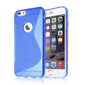 Actecom Funda Iphone 6 Plus Agujero Funda Protectora Silicona Iphone 6 Plus Color Gel De Tpu Suave Con Absorción De Impactos