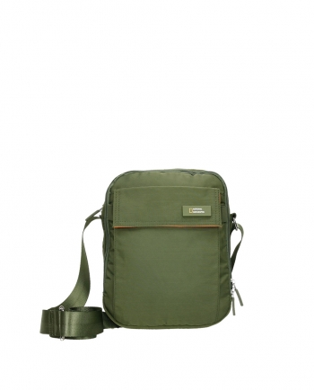Bolso Bandolera National Geographic - Medidas: 20x7,5x25,5 Cm - Color Verde