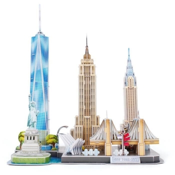 Revell Puzzle 3d City Line Nueva York 00142