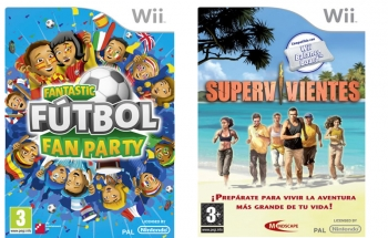 Fantastic Futbol Fan Party + Supervivientes Wii