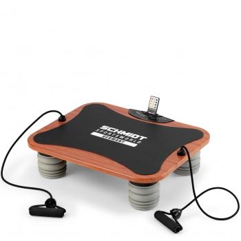 Schmidt Sportsworld Vib11 950279 - Plataforma Vibratoria Triplano - Tonificación - Ejercicios Especiales De Biceps, Triceps Y Abdominales