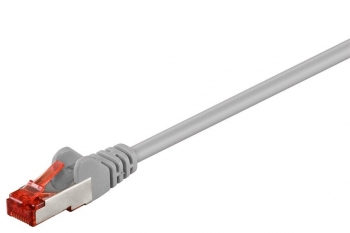 Cable Red Latiguillo Rj45 Ftp Cat6 Lszh 0,15m Cobre Color Gris 92455