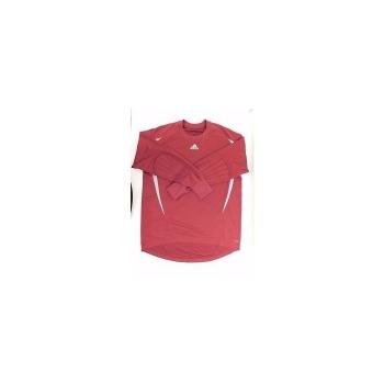 Camiseta De Portero Adidas Granate celeste Adulto dc343ff98af
