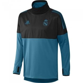 Sudadera Adidas Real Madrid 17 18 Azul negro Adulto 297b577f83c