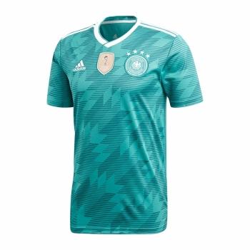 Camiseta Adidas Selección Alemania Segunda Mundial 17 18 Verde Adulto efa6ca3ee3e
