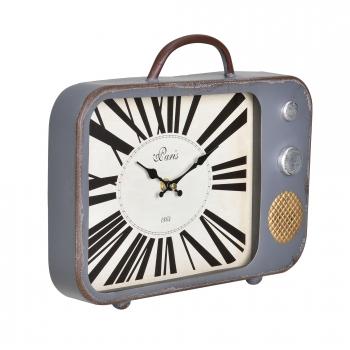 375cf7006f75  en.casa ® Reloj De Pared Televisión Antigua Con Pantalla Analógica - 33