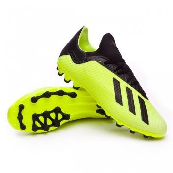 premium selection 8d0db 503b2 Botas De Fútbol Adidas X 18.3 Team Mode Suela Ag Amarillo Adulto