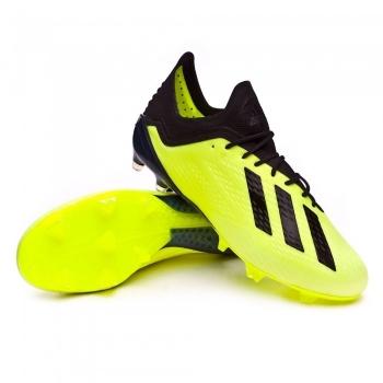 new products 0be17 3c5fe Botas De Fútbol Adidas X 18.1 Team Mode Suela Fg Amarillo Adulto