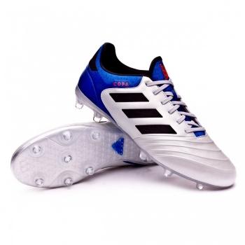 Botas De Fútbol Adidas Copa 18.3 Team Mode Suela Fg Plata Adulto ... 0067899c048c7