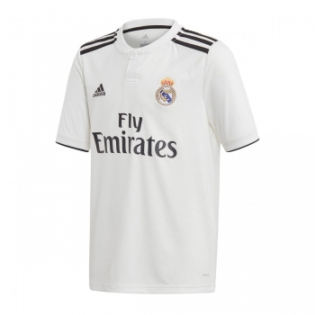 Camiseta Adidas Real Madrid 18 19 Blanco Adulto 0af1344d04689