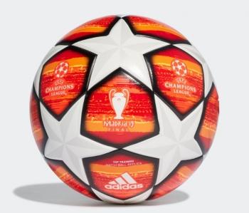 Balón Fútbol Adidas Finale Madrid Ttrn. Dn8676. Orange solar Red 718bd7d679135