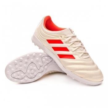 buy online 6b96f d4b97 Botas De Fútbol Adidas Copa 19.3 Initiator Mode Suela Turf Blancorojo  Adulto