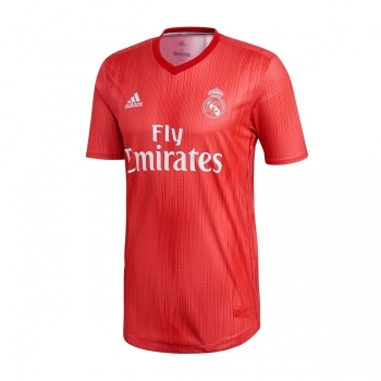 Camiseta Adidas Real Madrid 18 19 Roja Adulto b623b193877