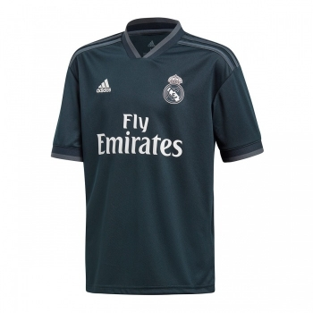 Camiseta Adidas Real Madrid 18 19 Negro Adulto 41e889990cf