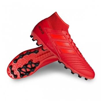 sports shoes 5ab6f 14828 Botas De Fútbol Adidas Predator19.3 Mode Suela Ag Rojo Adulto