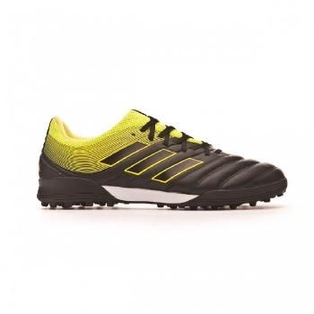 Botas De Fútbol Adidas Copa19.3 Exhibit Mode Suela Tf Negro amarillo Adulto 5d7818d375e32