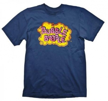 97f136564c8b8 Camiseta Bubble Bobble M