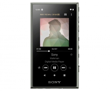 Sony Nw-a105g Verde Walkman 16gb Táctil 3.6'' Reproductor Hi Res Nfc Bluetooth